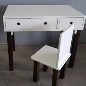 Toddler desk and chair